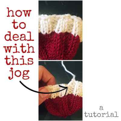 tutorial, knitting, gap in cast on edge