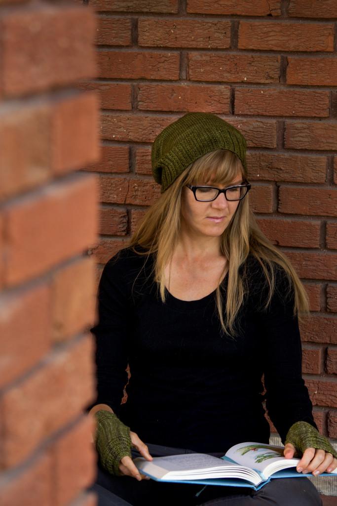free knitting pattern: Thotful Spot Hat
