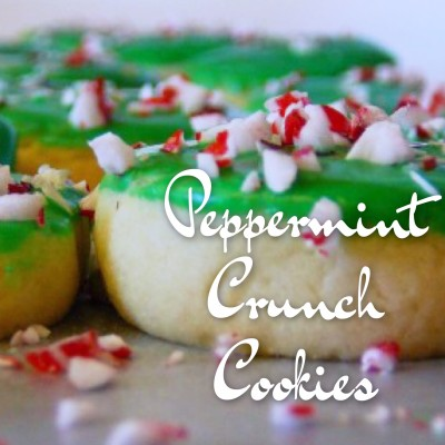 Our recipe for Peppermint Crunch Cookies - as delicious as you hope and they can be frozen, too