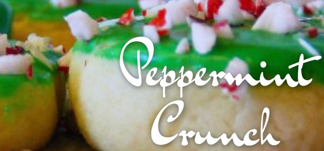 Peppermint Crunch Cookies