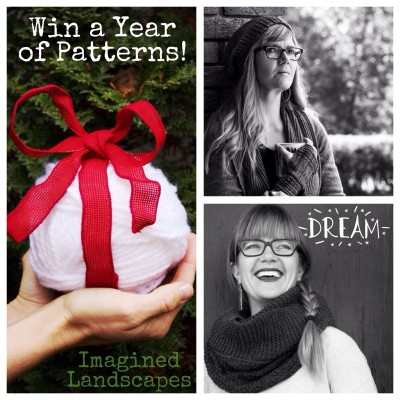 Win a year's worth of patterns over at my Instagram account