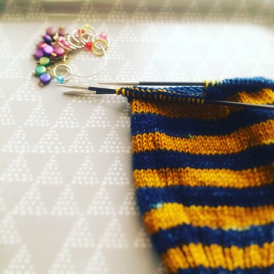 Ravenclaw Stripes sock