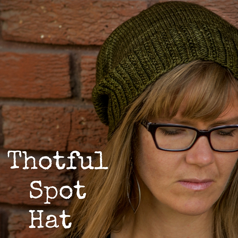 Thotful Spot Hat - free knitting pattern