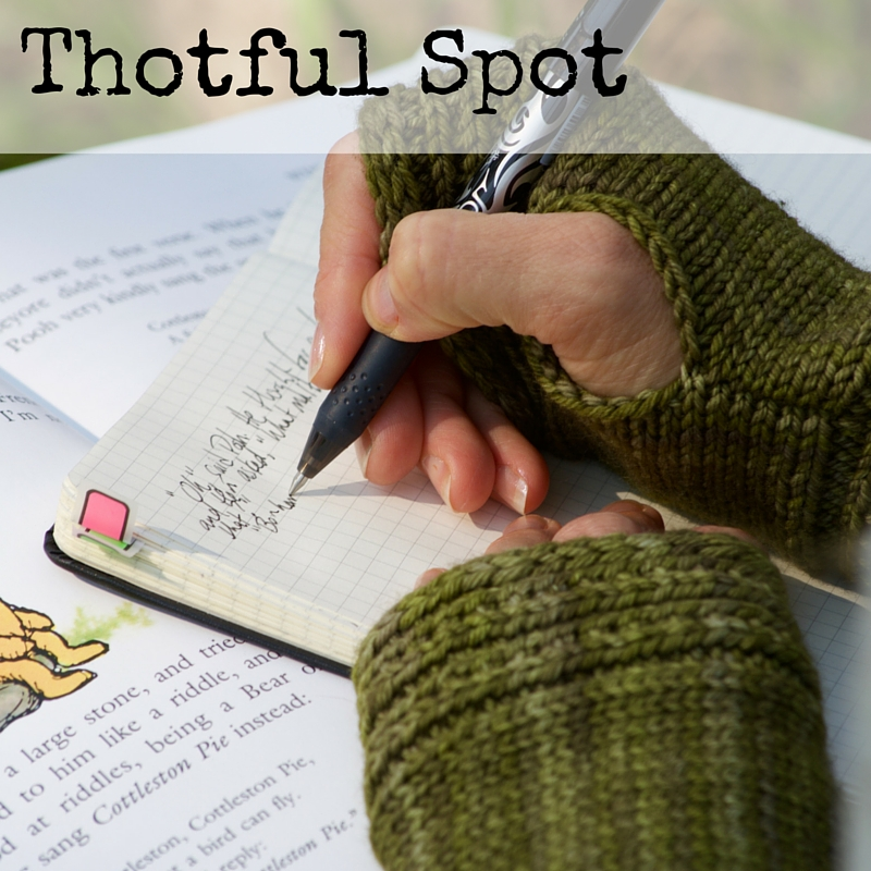 Thotful Spot Hand Warmers knitting pattern