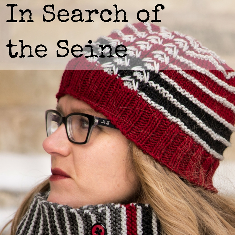 In Search of the Seine Hat knitting pattern