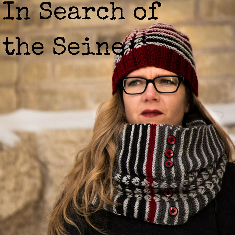 In Search of the Seine Cowl knitting pattern