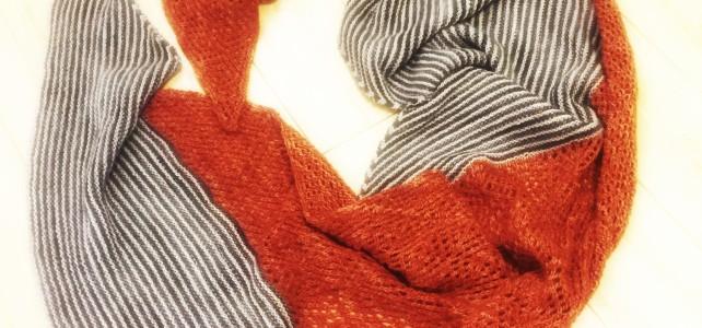 finished: the Lilli Pilli shawl