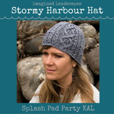 The Stormy Harbour Hat pattern - developed for the Splash Pad Party KAL