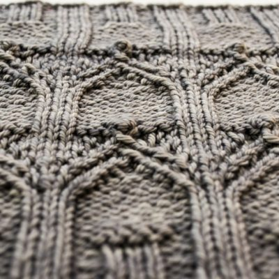detail of the flying buttresses on the Rain on Notre Dame Cowl by Imagined Landscapes Designs