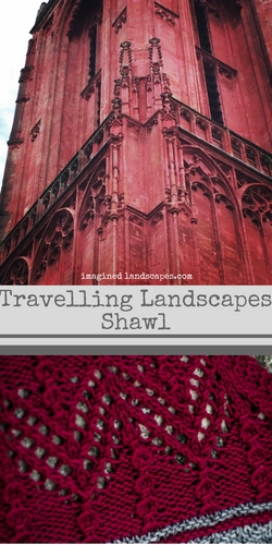 Travelling Landscapes Shawl free knitting pattern by Imagined Landscapes