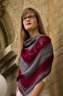 Travelling Landscapes Shawl - a free pattern from Imagined Landscapes