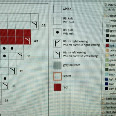 Making a chart with StitchMastery