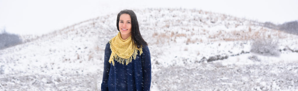 Prairie Hills Shawl - a knitting pattern from Imagined Landscapes Design