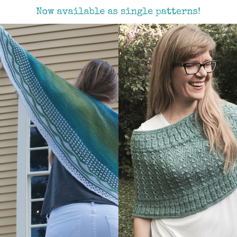 knitting patterns from the Point CounterPoint collection now available