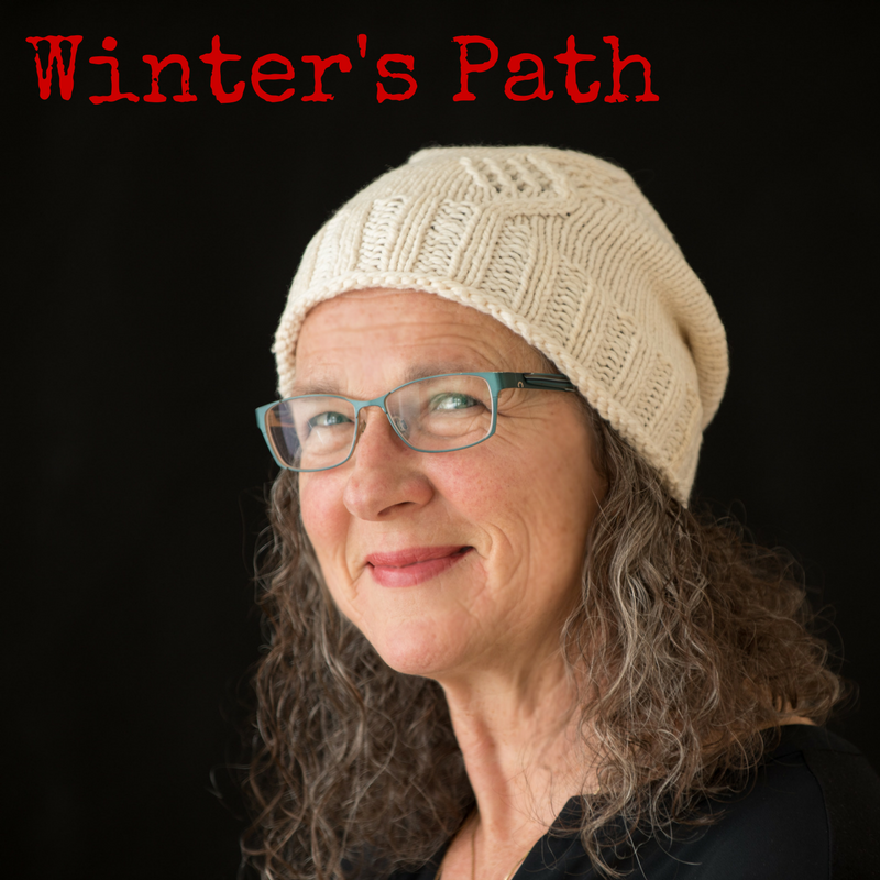 Winter's Path Hat - a knitting pattern from Imagined Landscapes