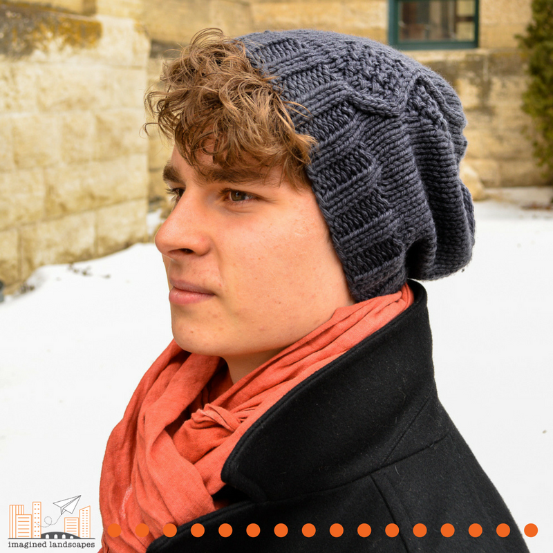Thundersnow Hat - a knitting pattern from Imagined Landscapes Designs