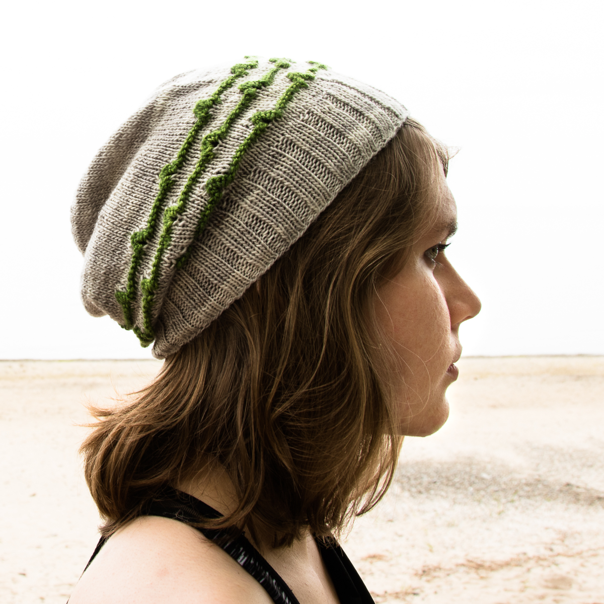 Persian Windows Hat - a knitting pattern from Imagined Landscapes Designs