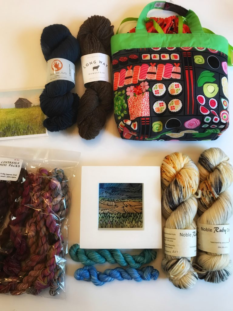 Sarah's Goodies from Manitoba Fibre Festival