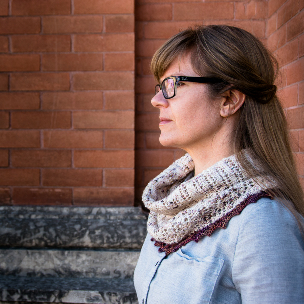 Little Bit Nostalgic Cowl - a knitting pattern from the +1 Pop Collection by Imagined Landscapes Design