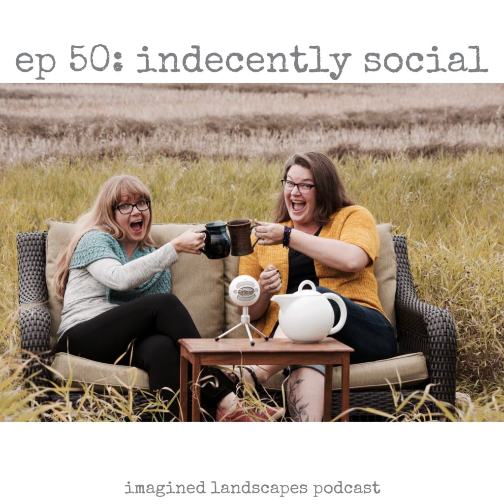 Imagined Landscapes Knitting Podcast - episode 50!