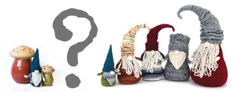 Gnome De Plume - mystery knitalong from Imagined Landscapes Designs