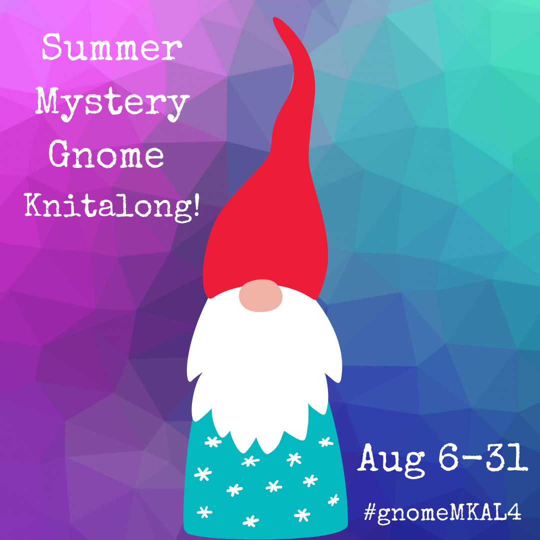 Summer Mystery Knitalong Aug 6-31