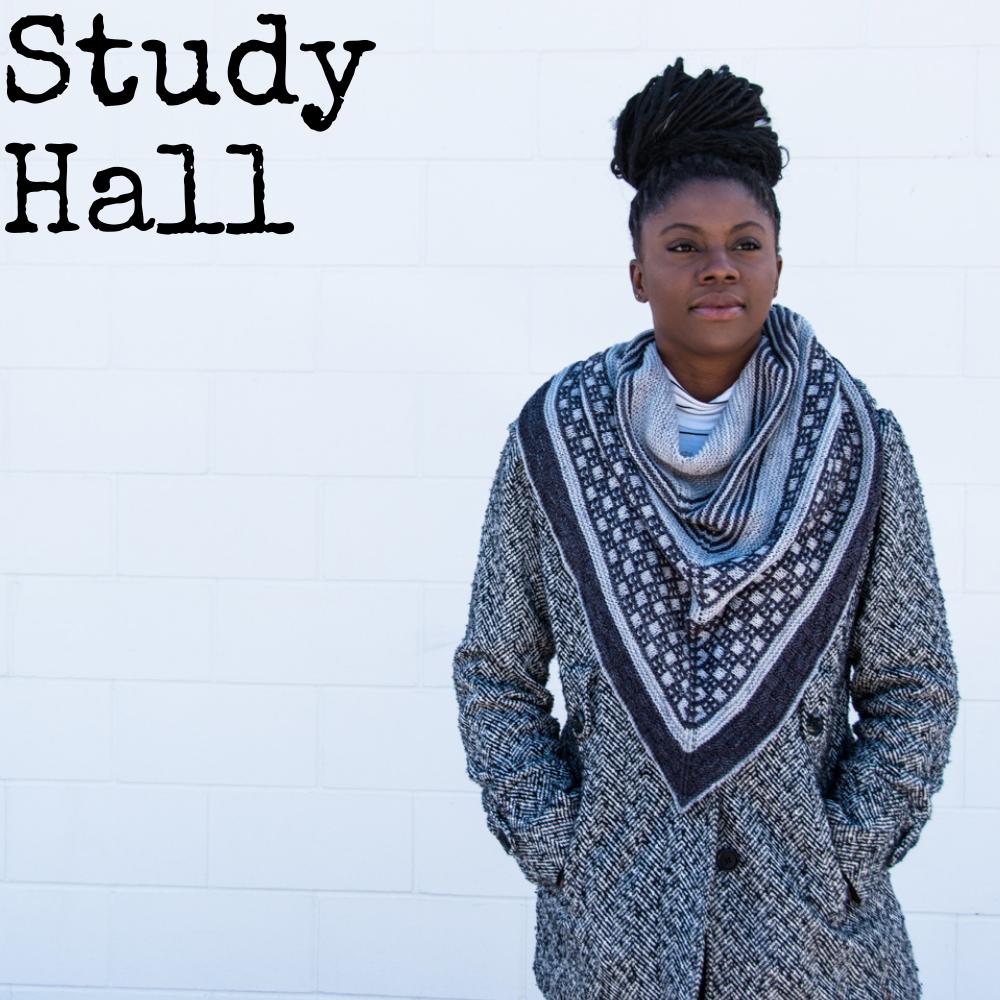 Study Hall Shawl