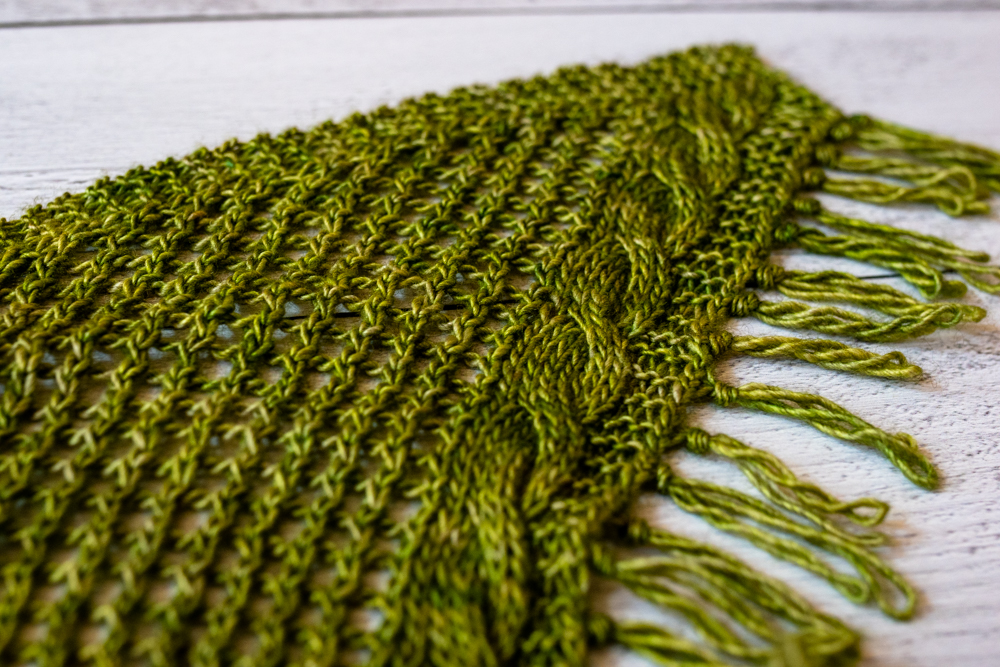 Prairie Valley Shawl