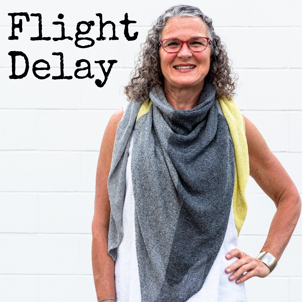Flight Delay Shawl