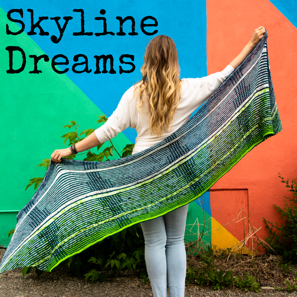Skyline Dreams Wrap