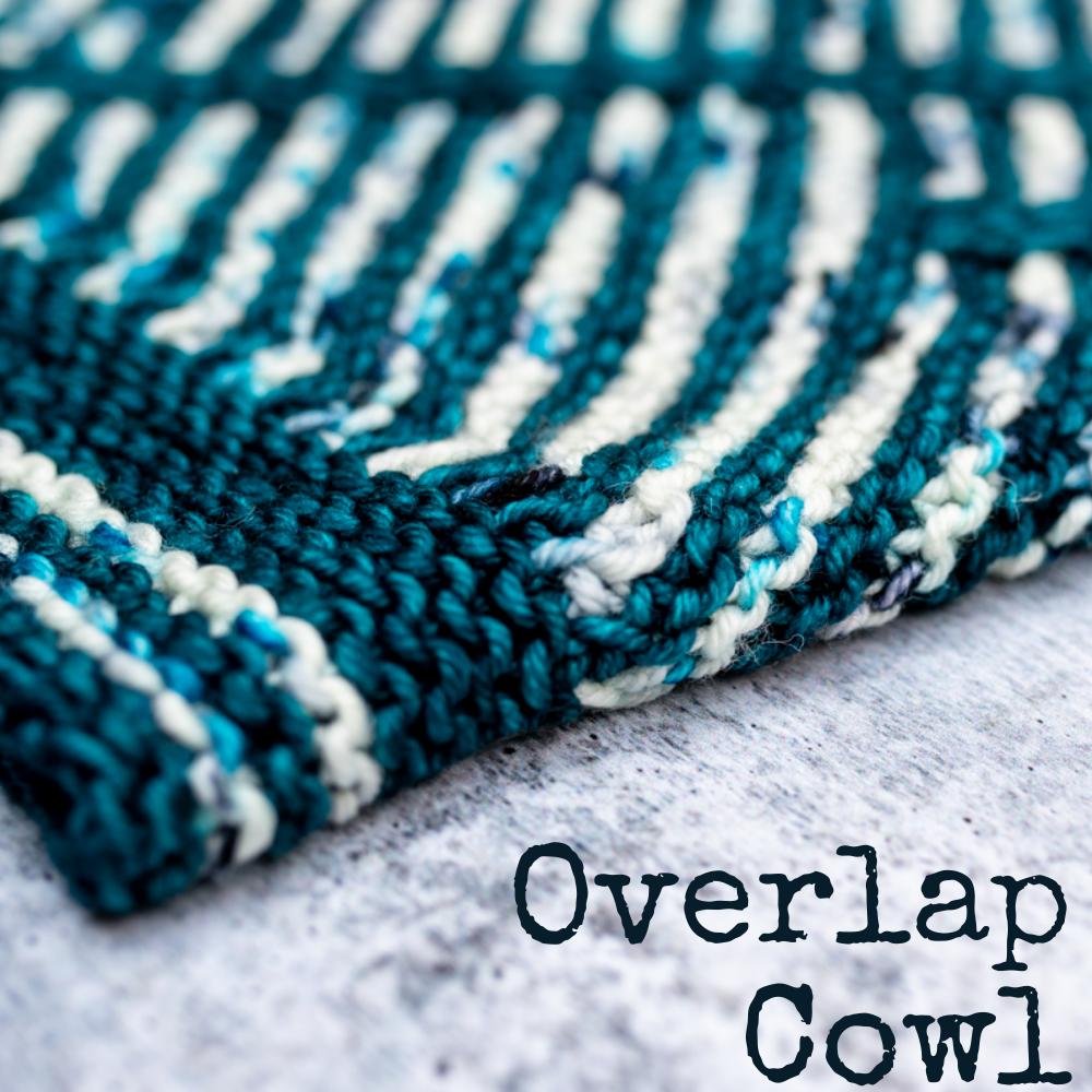Overlap Cowl knitting pattern