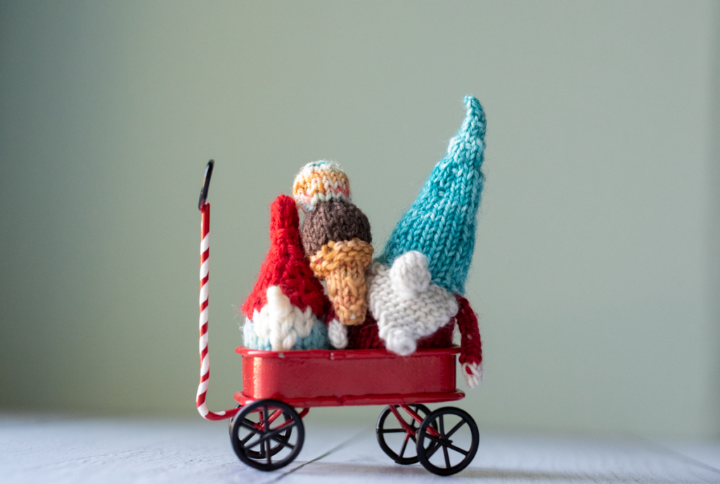 Tiny Ice Cream knitting pattern from Imagined Landscapes
